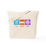 Eat Sleep Lost Tote Bag