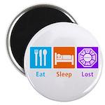 Eat Sleep Lost Magnet