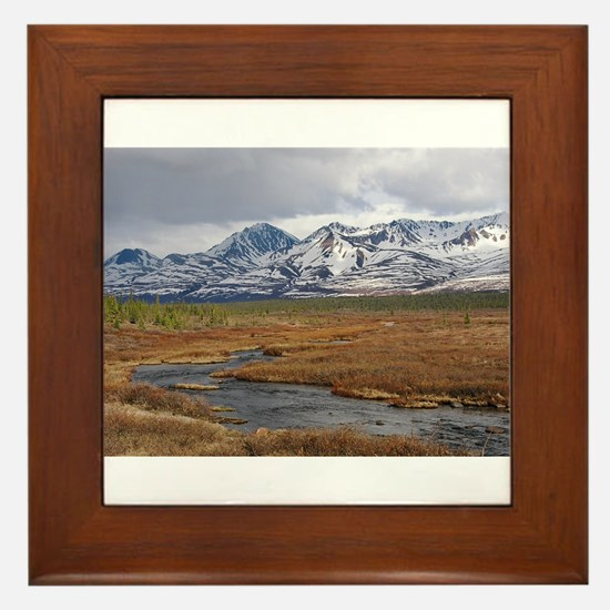 Fish Creek Framed Tile