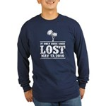 Ends Once Long Sleeve Dark T-Shirt