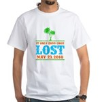 Ends Once White T-Shirt