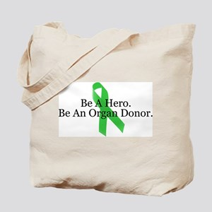 Bold Organ Donor Tote Bag