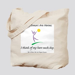 Inside-Out Donor Thanks Tote Bag