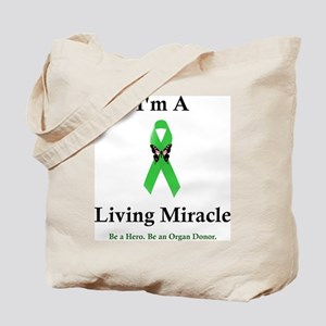Living Miracle Tote Bag
