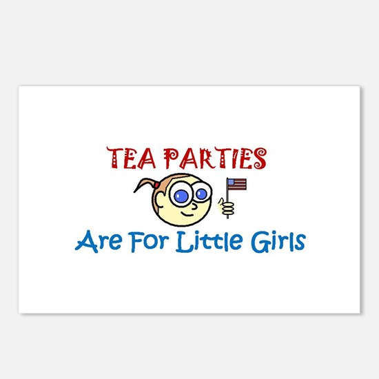 Tea Party Postcards (Package of 8)