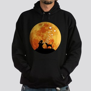 Treeing Walker Coonhound Hoodie (dark)
