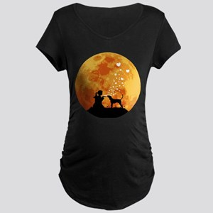 Treeing Walker Coonhound Maternity Dark T-Shirt