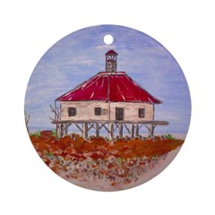 New Orleans Lighthouse Ornament (Round)