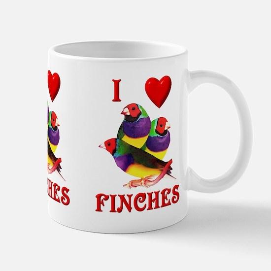 Gouldian Finch Mug
