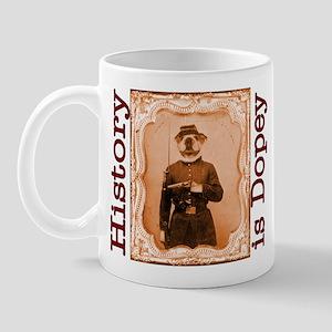 Bulldog LEFTY Mug