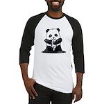 KiniArt Panda Baseball Jersey