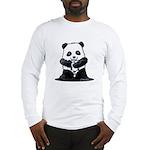 KiniArt Panda Long Sleeve T-Shirt