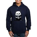 KiniArt Panda Hoodie (dark)
