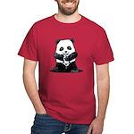 KiniArt Panda Dark T-Shirt