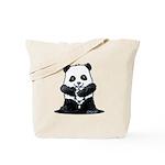 KiniArt Panda Tote Bag