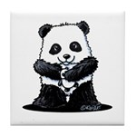 KiniArt Panda Tile Coaster