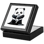 KiniArt Panda Keepsake Box