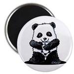 KiniArt Panda Magnet