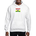 ThreePeace Flag Reggae Hooded Sweatshirt