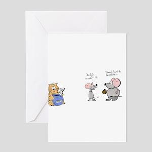 Cookie iou Greeting Cards