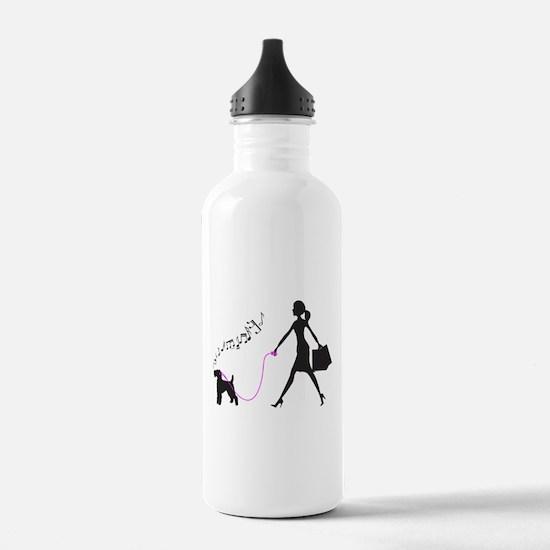 Welsh Terrier Sports Water Bottle