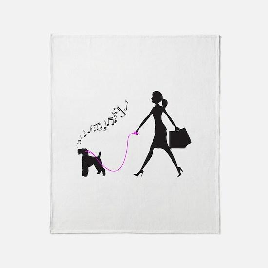 Welsh Terrier Throw Blanket