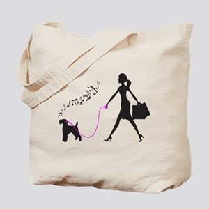 Welsh Terrier Tote Bag