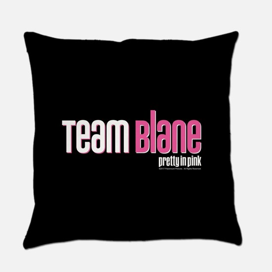 Pretty in Pink: Team Blane Everyday Pillow