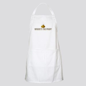Where's the poop? Apron