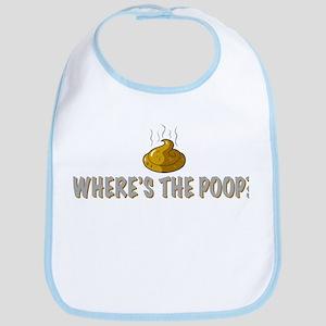 Where's the poop? Bib
