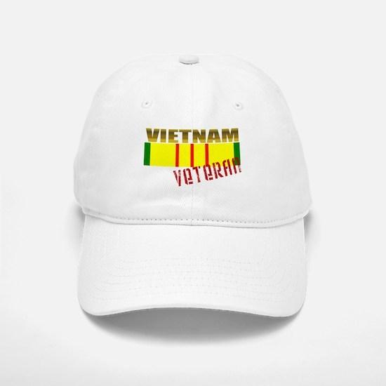 Vietnam Veteran Ribbon Baseball Baseball Cap