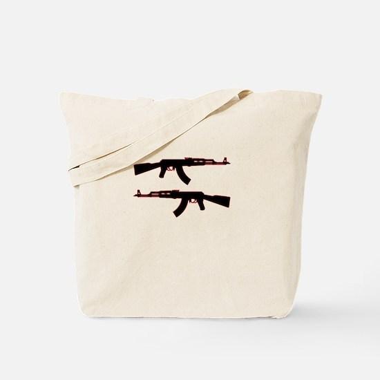 Funny Ak47 Tote Bag