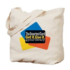 Smartest Card Library Tote