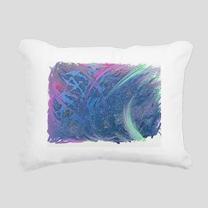 Color me pretty Rectangular Canvas Pillow