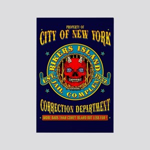 RIKERS ISLAND Rectangle Magnet