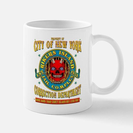 RIKERS ISLAND Mug