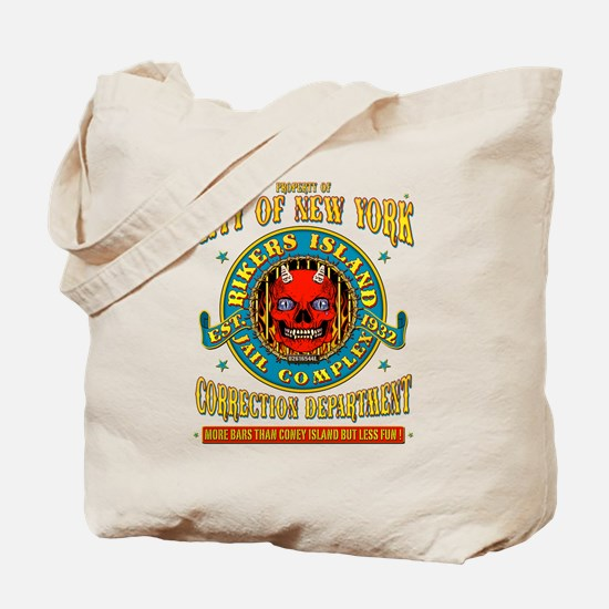 RIKERS ISLAND Tote Bag