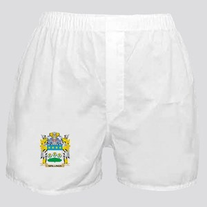 Spillings Family Crest - Coat of Arms Boxer Shorts