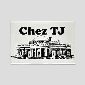 Chez TJ Rectangle Magnet