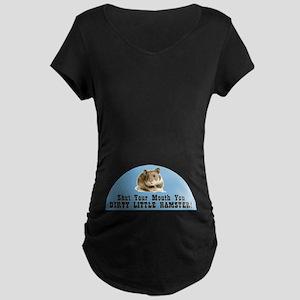 Dirty Hamster Maternity Dark T-Shirt