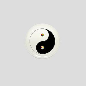 Peace Sign Dao Mini Button