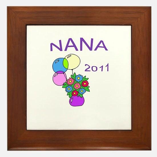 NANA 2011-1 Framed Tile