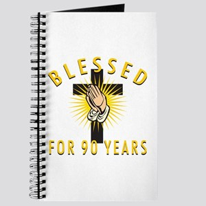 Blessed For 90 Years Journal