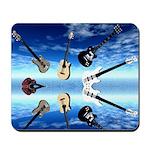 Floating Guitars Mousepad