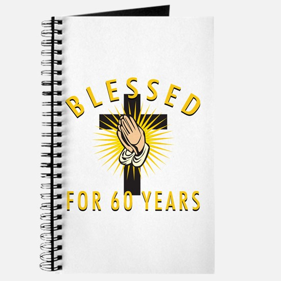 Blessed For 60 Years Journal