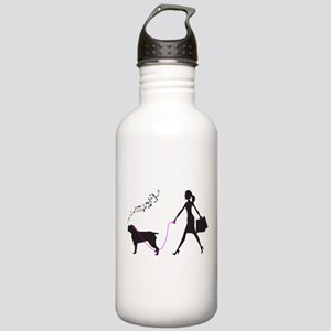 Wirehaired Pointing Griffon Stainless Water Bottle