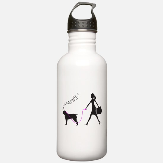 Wirehaired Pointing Griffon Sports Water Bottle