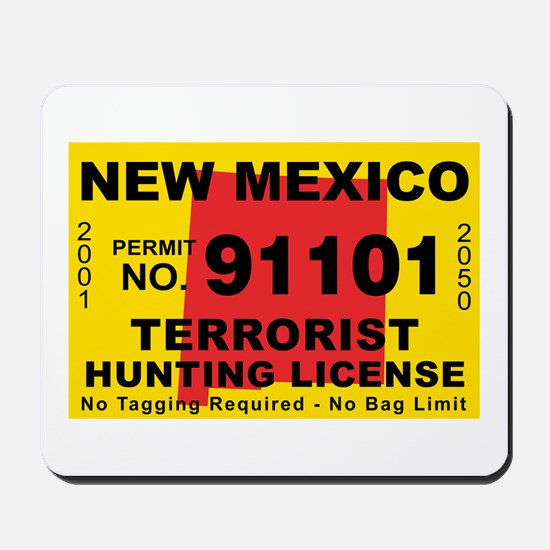 New Mexico Terrorist Hunting Mousepad