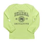 Property of Dharma 77 Long Sleeve Infant T-Shirt