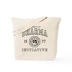Property of Dharma 77 Tote Bag